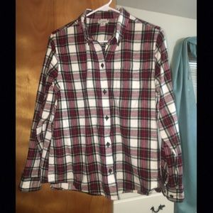 LL Bean Flannel Shirt